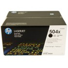 HP CE250XD (№504X) black оригинальный
