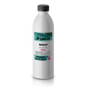 Тонер HP Color LJ Universal бутылка 500 гр Magenta SuperFine для принтеров