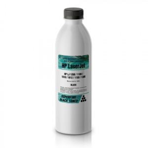 Тонер HP LJ 1200/1100/1010/1012/1150/1300 бутылка 500 гр. SuperFine для принтеров