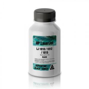 Тонер HP LJ 1010/1012/1015 бутылка 110 гр SuperFine для принтеров