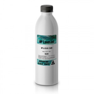 Тонер HP LJ 2410/2420 бутылка 280 гр SuperFine для принтеров