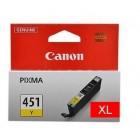 Canon CLI-451XLY yellow оригинальный