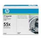 HP CE255X (№55X) black оригинальный