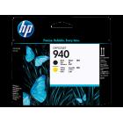 HP C4900A (№ 940) black & yellow оригинальный