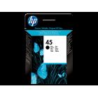 HP 51645GE (№45G) black оригинальный