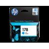 Hewlett-Packard HP CB318HE (№178) cyan оригинальный