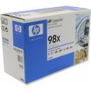 Картридж HP 92298X №98X Black