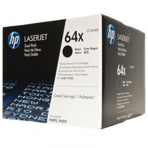 Картридж HP CC364XD №64X Black 2 шт/уп