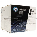 Картридж  HP Q1338D №38A Black (2 шт/уп)