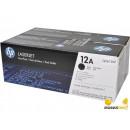 Картридж HP Q2612AF №12A Black (2 шт/уп)