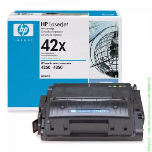 Картридж HP Q5942X №42X Black