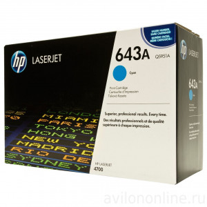 Картридж HP Q5951A №643A Cyan