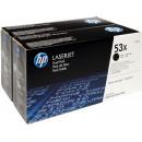 Картридж  HP Q7553XD №53X Black (2 шт/уп.)