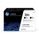 Картридж HP CF226XF №26X Black (увеличеной ёмкости, двойная упак.)