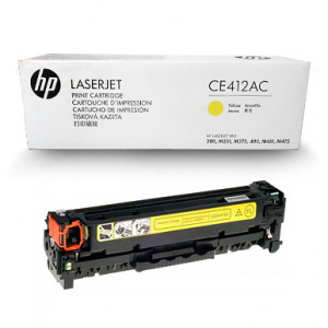 Картридж HP CE412AC №305A Yellow
