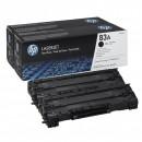 Картридж HP CF283AF №83A Black, 2 шт/уп