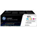 Картридж HP CF400XD №201X Black, (2*2800стр.) увеличеной емкости