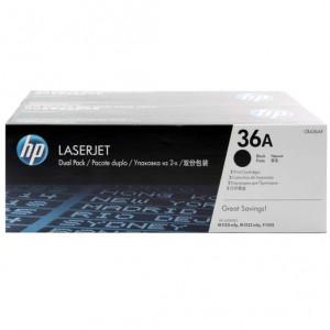 Картридж HP CB436AF №36A Black, (2 шт/уп)