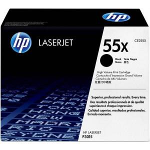 Картридж HP CE255X №55X Black,увеличенный