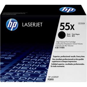 Картридж HP CE255XC №55X Black, увеличенный