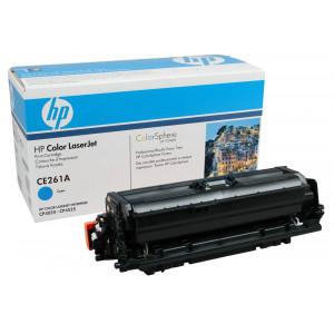 Картридж HP CE261A №648A Cyan