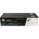 Картридж HP CE310AD Black, 2 шт/уп