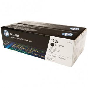 Картридж HP CE320AD №128A Black, 2 шт/уп