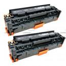 Картриджп HP CE410XD №305Х Black, увеличенный, 2 шт/у