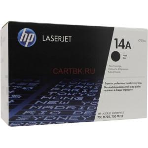 Картридж HP CF214A №14A Black