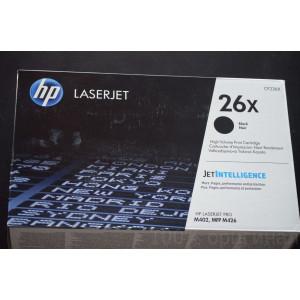 Картридж HP CF226X №26X Black, (увеличеной ёмкости)