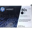 Картридж HP CF280XF №80X Black, увеличенный, 2 шт/уп
