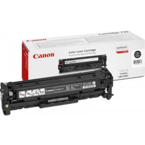 Canon Cartridge 718Bk черный картридж