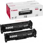 Canon Cartridge 718В2Р черный картридж двойной