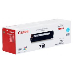 Canon Cartridge 718C синий картридж