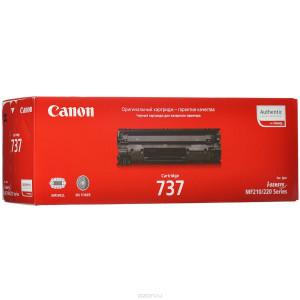 Картридж Canon Cartridge 737 Black