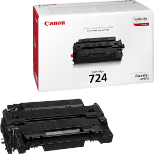 Картридж Canon Cartridge 724 Black