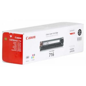 Картридж Canon Cartridge 716Bk Black