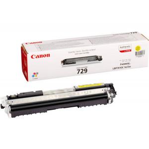 Картридж Canon Cartridge 729Y Yellow