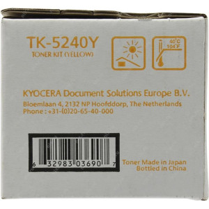 Картридж Kyocera TK-5240Y Yellow
