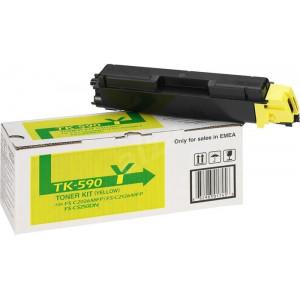Картридж Kyocera TK-590Y Yellow