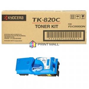 Картридж Kyocera TK-820C Cyan