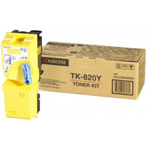 Картридж Kyocera TK-820Y Yellow