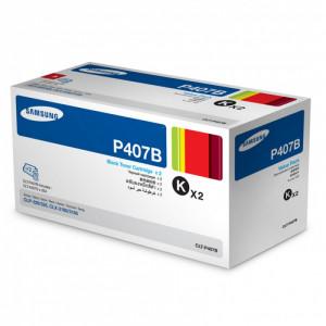 Картридж  Samsung CLT-P407B Black 2 штуки в упаковке