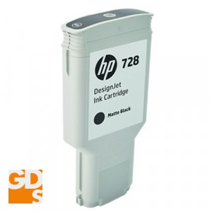 Картридж HP F9J68A №728 Matte Black