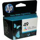 Картридж HP 51649A №49 цветной