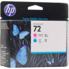 C9383A №72 Magenta Cyan HP Печатающая головка пурпурная и голубая