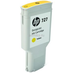 Картридж HP F9J78A №727 Yellow