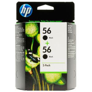 Картридж 2 шт/уп HP C9502AE №56 Black