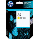 Картридж HP CH568A №82 Yellow