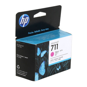 Картридж HP CZ135A №711 Magenta (3 шт. по 29 мл.)